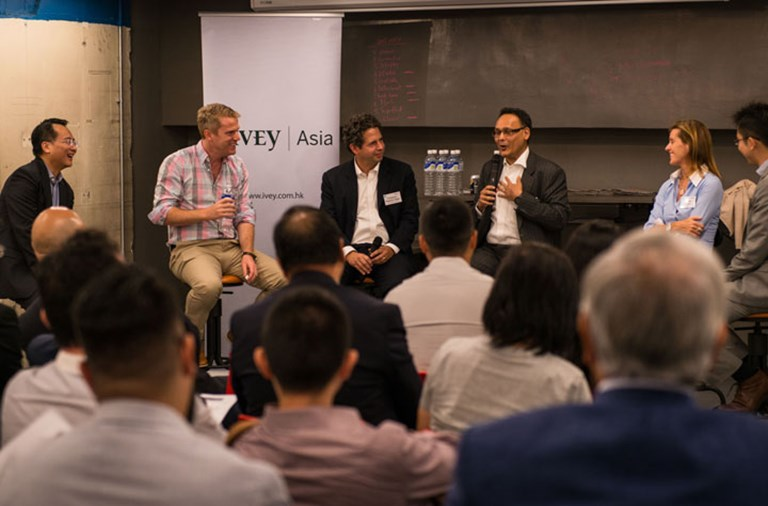 Ivey's faculty and industry experts to discuss the development of FinTech in HK