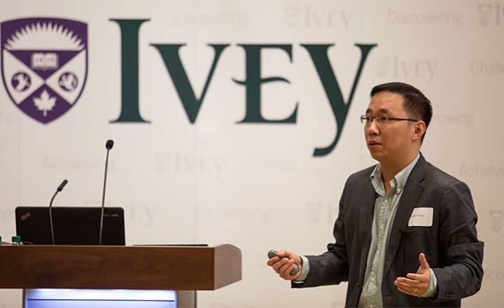 Ivey Professor speaks at the Canadian Chamber of Commerce