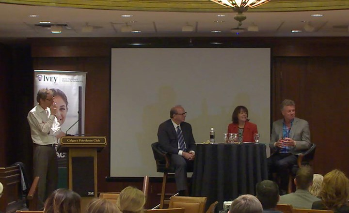 Calgary leaders discuss Developing Leadership Character