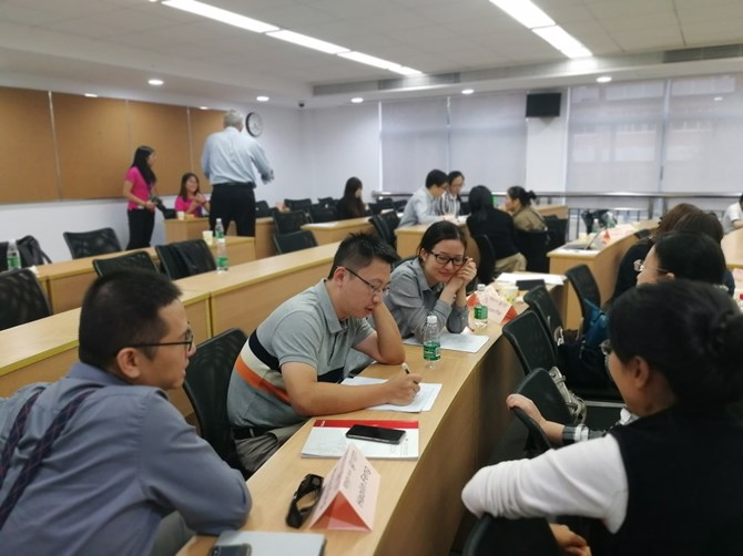 Case Teaching Workshop Group Discussion