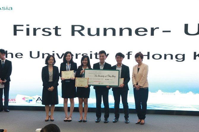 First Runner-Up - University of Hong Kong