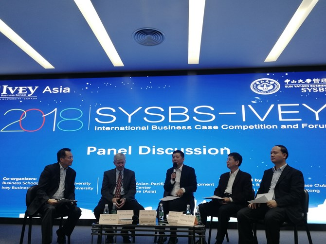 SYSBS-Ivey International Business Case Competition Forum