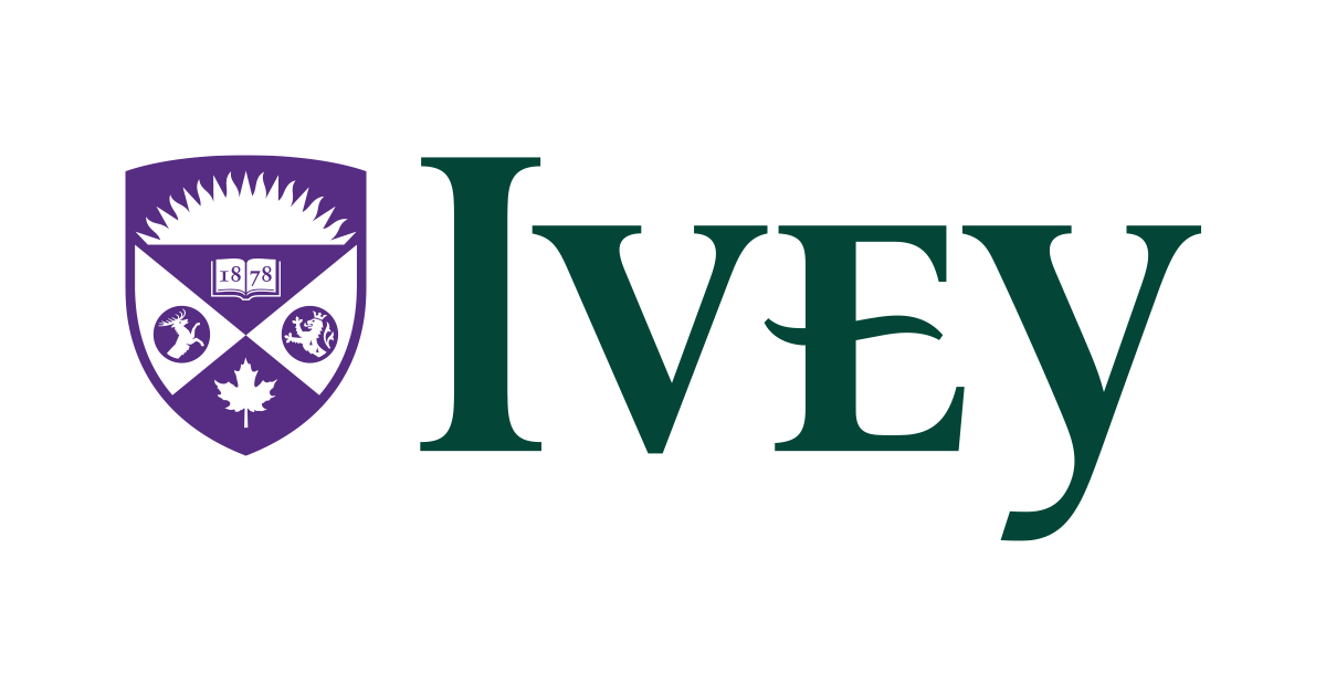 Image result for ivey business school logo png