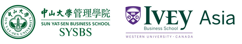 Sun Yat-Sen Business School and Ivey Business School logos
