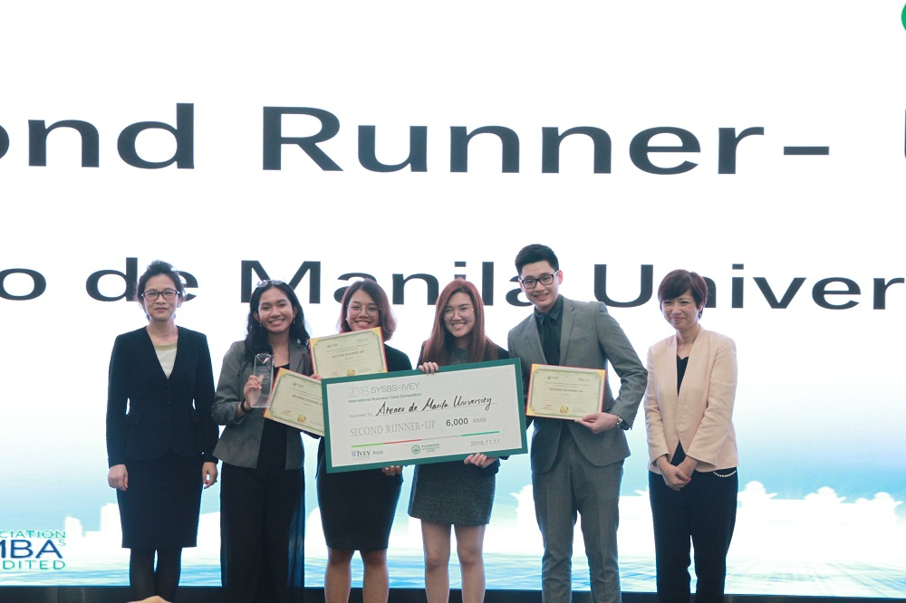 The Second-Up Award went to Ateneo de Manila University.
